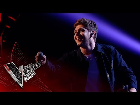 Niall Horan performs 'Slow Hands': Live Final | The Voice Kids UK 2017 (видео)