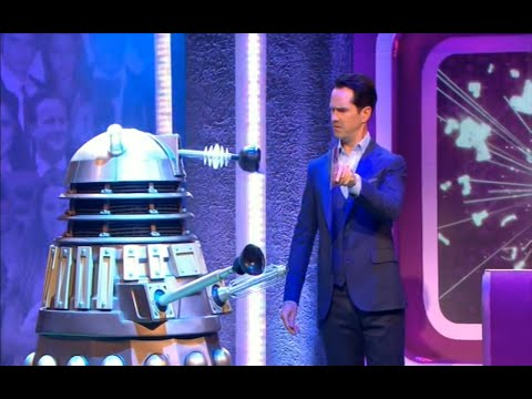 Dalek Fails To Exterminate Jimmy Carr & Guests On The Big Fat Anniversary Quiz
