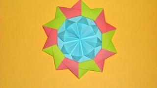 Медаль из бумаги Оригами подарок на 23 февраля