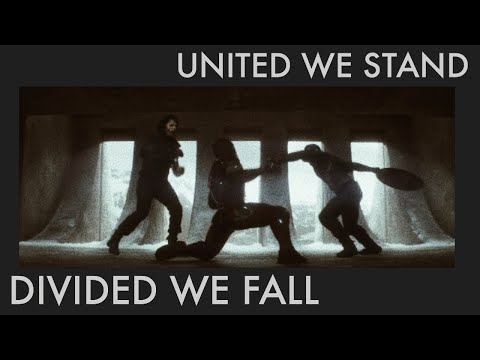 united we stand, divided we fall.   marvel