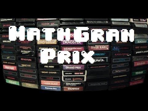 Math Gran Prix - Atari Mini Review