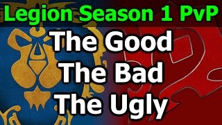 My thoughts on WoW Legion PvP Season 1. So far I think this is one of the better PvP seasons, especially with this being the beginning of an expansion.
