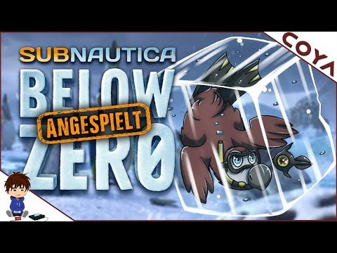 SUBNAUTICA BELOW ZERO - Wie gut ist das eisige Addon? • Below Zero Gameplay Deutsch, German