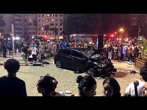 Αυτοκίνητο έπεσε σε πεζούς στην Κοπακαμπάνα