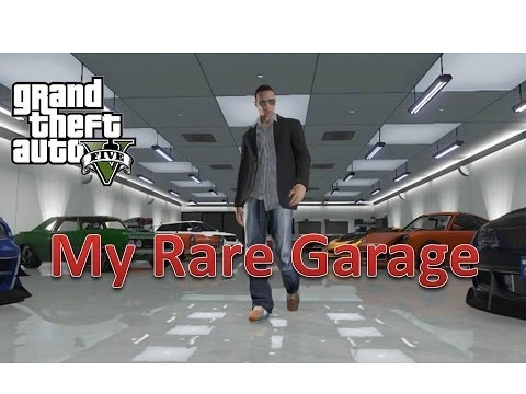 GTA V - My Rare Garage - Trading Any of These Cars - PS3