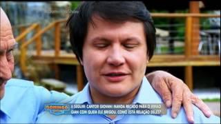Giovani chorou de emoção ao ser surpreendido por seus familiares durante a conversa com Geraldo. O cantor aproveitou o...