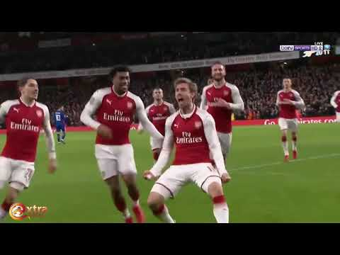 Arsenal vs Chelsea 2 1 All Goals & Highlights 24 01 2018 HD