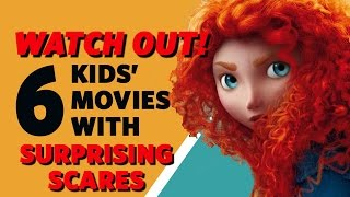 Excited to watch some classic movies with your kids? You might not remember them as well as you thought. Here are six popular kids' movies with surprising sc...