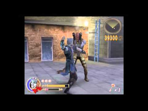 preview-Let\'s Play God Hand! Hard mode - 010 - Stage 2-4: Beware The Arrow Bridge (ctye85)