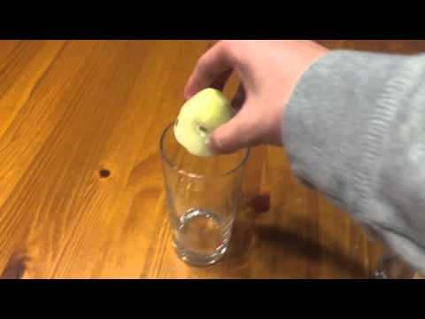 H2O2 Cooked Vs. Raw Potato
