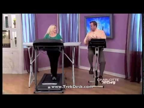What is Health & Productivity Like with a TrekDesk Treadmill Desk?