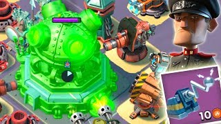 Video Boom Beach MEGA TURTLE Hack the HQ! Universal Remote the Core! (Stages 22-26) MP3, 3GP, MP4, WEBM, AVI, FLV Oktober 2017