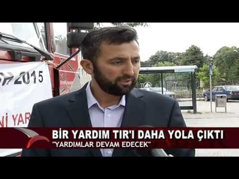 BİR YARDIM TIR'I DAHA YOLA ÇIKTI