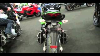 4. 2013 Kawasaki Ninja 1000 ABS Lime Green