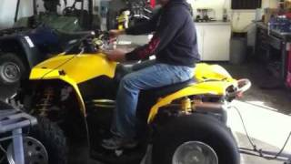 4. Can am outlander 800 turbo 90 hp