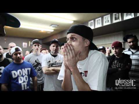 witness - Qlassic Clash 3ieme édition, Freddy Gruesum VS -+Witness. Big up au 2 MC qui ont livré une performance de feu! WWW.QLASSIC-CLASH.COM WWW.QLASSIC.CA WWW.S2L-P...