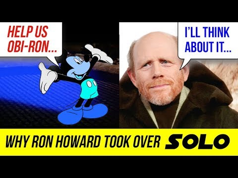 THE REAL REASON RON HOWARD TOOK OVER DIRECTING SOLO: A STAR WARS STORY ???