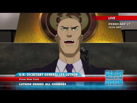 Young justice season 3 -Lex busted-