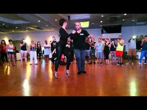 Alex Morel and Desirée Godsell bachata at Miami 1st Bachata festival 2016