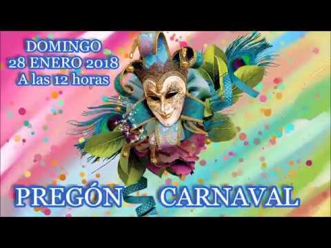 Pregón del Carnaval de Isla Cristina 2018 a Cargo de D. Antonio J. Cárdenas Rojas
