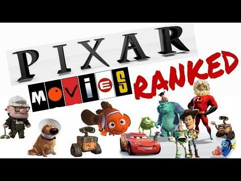 Pixar Movies Ranked