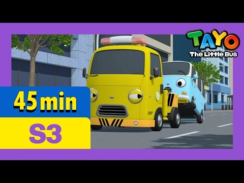 Tayo S3 Full Episodes EP9-12 l Gani the super star l Toto and Bongbong l Tayo the Little Bus