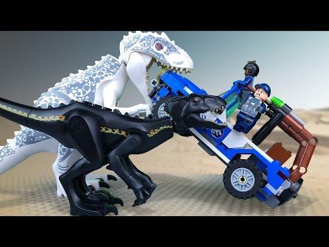 LEGO Мультики про ДИНОЗАВРОВ 🔴 ЛЕГО Мир Юрского Периода (1й сезон все серии подряд)