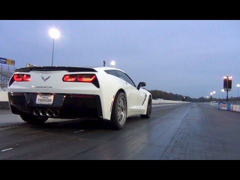 YouTube poster claims this is  currently the fastest C7 Corvette in the country