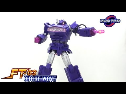 optibotimus - Video Review of the Fans Toys: FT-03 Quake Wave (aka MP Shockwave) GET YOURS HERE!!! http://www.capturedprey.com/store/fanstoys_ft03_quake_wave_second_run?ke...