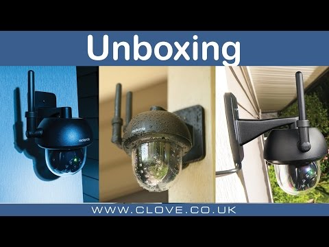 Motorola Focus 73 Outdoor Wireless Camera Unboxing
