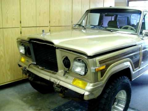 FSJ - Update on my full size jeeps. Quick look at the 1989 Grand Wagoneer before it's off to the body shop, and 1980 Jeep Cherokee Laredo seat swap from it's origi...