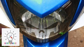Video How to Modify the motorcycle lights. MP3, 3GP, MP4, WEBM, AVI, FLV Desember 2018