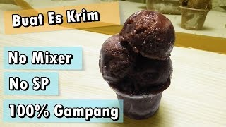 Video Cara Membuat Es Krim Nyoklat Lembut No Mixer No SP - Resep Es Krim MP3, 3GP, MP4, WEBM, AVI, FLV Maret 2019