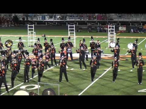 Cedar Rapids Prairie High School Marching Band Homecoming 2012