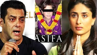 Video Salman और Kareena का Asifa Kathua Case पर Strong Reaction | Justice For Asifa MP3, 3GP, MP4, WEBM, AVI, FLV April 2018