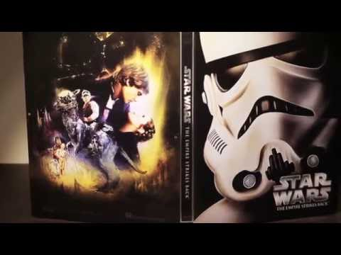 Star Wars Episode V: The Empire Strikes Back - Limited Edition Steelbook Blu-ray Unboxing