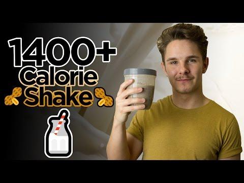 HOME MADE 1400+ CALORIE SHAKE | CHEAP BULKING SHAKE FOR HARD GAINERS