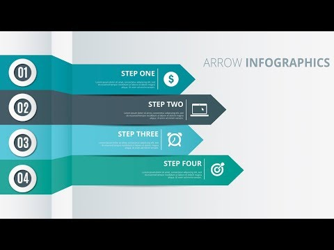Arrow Infographics Illustrator Tutorial