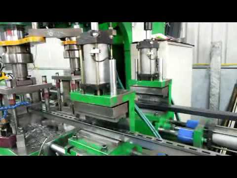 AUTO SLOT PUNCHING (SQUARE & RECT. TUBE)