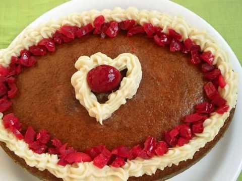 Eggless Vanilla Cake- Andhra Recipes – Telugu Vantalu