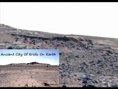 Mars Anomalies◄ Underground Entrance  Ancient Sumerian Type Building Complex Found In NASA Images★★★