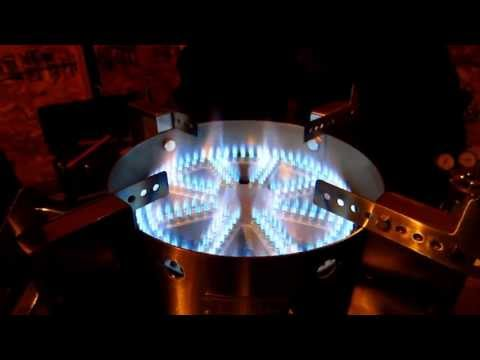 Blichmann Top Tier Floor Burner Test Fire – Craft Brewing™