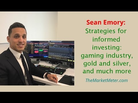 Sean Emory: Informed Investing, Gaming Industry, Gold & Silver, & More // Investment Tips Strategies