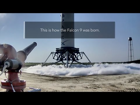 Because of SpaceX's success this weekend, it's nice to remember all of the work that went into perfecting landing rockets.