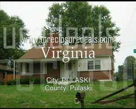 Virginia Foreclosure Homes - VA