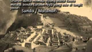 all this about the identity of Sundanese - semua ini tentang identitas sunda.