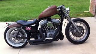4. Harley Davidson Sportster Bobber walk around