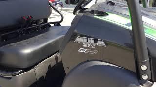 8. 2020 Kawasaki Mule SX 4X4 XC LE FI