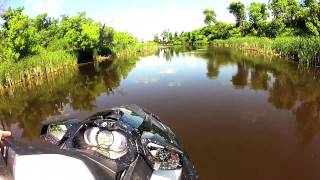 9. 2013 Sea Doo GTI 130 SE - Zippin through Patterson