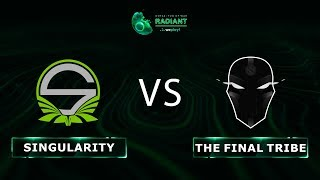 Team Singularity vs The Final Tribe - RU @Map1 | Dota 2 Tug of War: Radiant | WePlay!